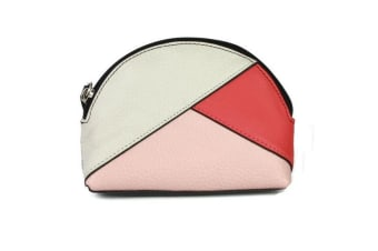 Eastern Counties Leather Womens/Ladies Betsy Coin Purse (White/Coral/Light Pink) (One Size)