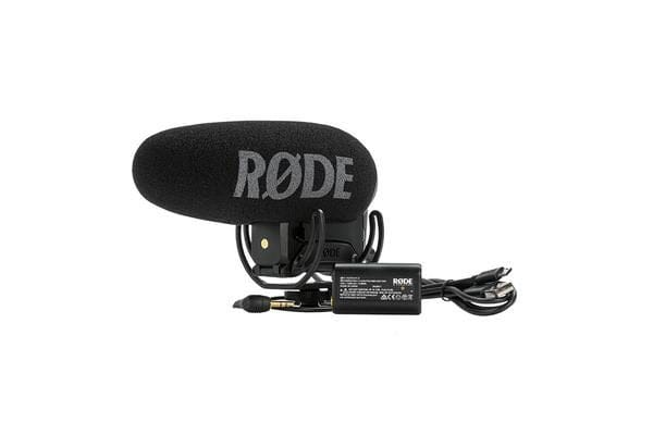 RODE VideoMic Pro + On-Camera Microphone