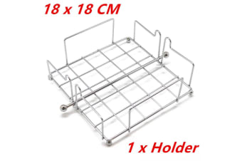 1 x Chrome Wire Steel Napkin Dispenser Serviette Holder Rack Dining Restaurant WMCV