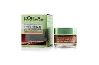 L'Oreal Skin Expert Pure Clay Mask - Exfoliate & Refine Pores 50ml