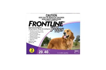 Frontline Plus Dog Large Purple - 3p