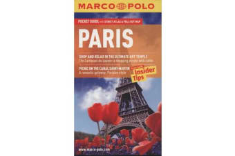 Paris Marco Polo Pocket Guide