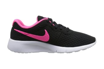 Nike Girls' Tanjun Shoe (Black/Hyper Pink)
