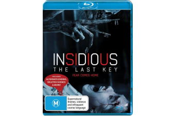 Insidious The Last Key Blu-ray Region B