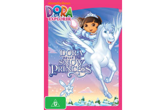 Dora the Explorer Dora Saves the Snow Princess DVD Region 4