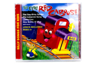 The Little Red Caboose BRAND NEW SEALED MUSIC ALBUM CD - AU STOCK