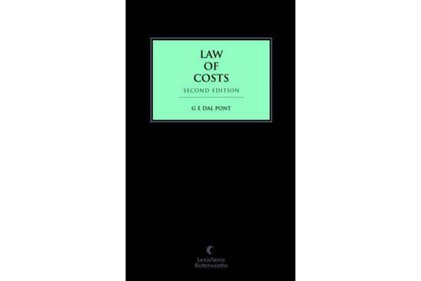 Law of Costs, 3rd Edition (cased edition)