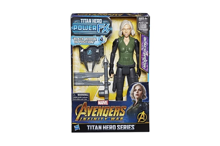 Avengers: Infinity War Black Widow Power Pack Titan