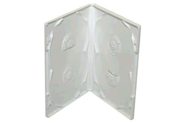 Imatech 4-DVD Case Frosty Clear 14mm thick 100 pcs/carton