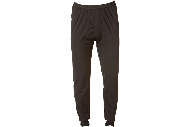 Caterpillar C1499011 Long John / Mens Thermal Underwear (Black) (2XL)