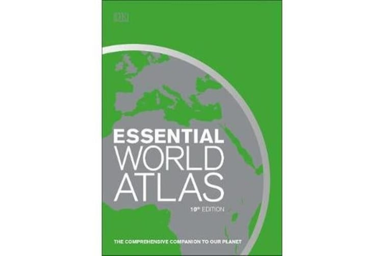Essential World Atlas - The comprehensive companion to our planet