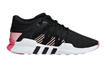 Adidas Women's EQT Racing Adv Shoes (Core Black/Real Pink,Size 7.5)