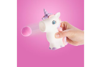 Unicorn Ball Popper Squeezer Toy | Squeeze Her Tummy To Shoot Balls!