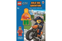 LEGO CITY - Gold Egg Adventure Activity Book with Minifigure