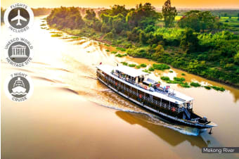 VIETNAM & CAMBODIA: 10 Day Luxury Mekong Delta Cruise Including Flights