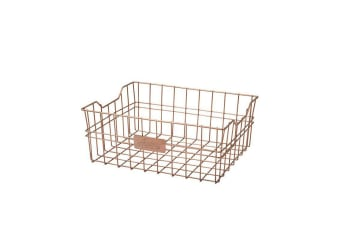 Academy Orwell Rectangle Basket Copper 31x25x14cm