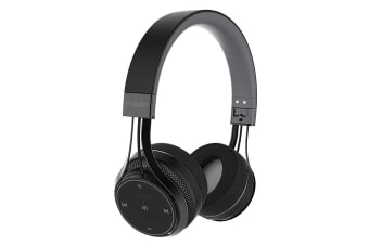 BlueAnt Pump SOUL Wireless Sports On Ear HD Headphones - Black
