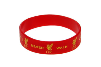 Liverpool FC Official Silicone Wristband (Red)