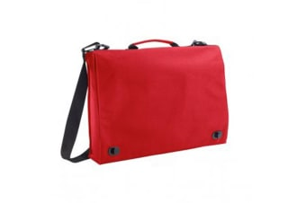 SOLS Unisex Conference Briefcase (Red) (One Size)
