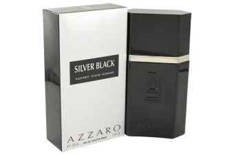 Azzaro Silver Black Eau De Toilette Spray 100ml/3.4oz