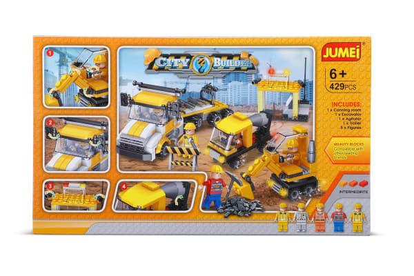 Jumei Building Blocks - City Builder (Lego Compatible)