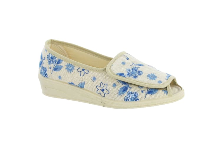 Mirak Quimper Canvas Sandal / Womens Sandals (Floral) (8 UK)