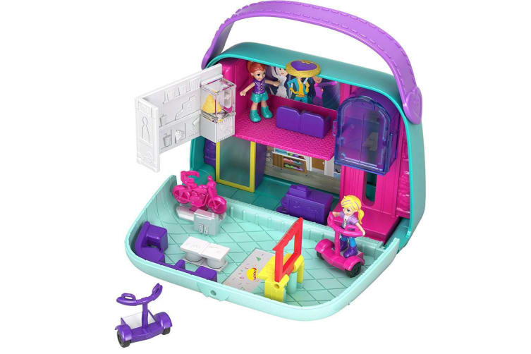 Polly Pocket Big Pocket World Mini Mall Escape