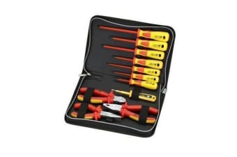 SPROTEK 11 Piece Screwdriver &      Plier Set.1000V Insulated.