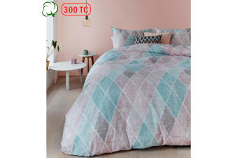 Castillo Pastel Quilt Cover Set Queen by Bedding House