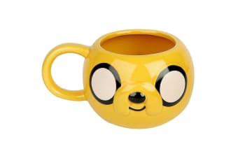 Adventure Time 3D Jake Mug (Yellow)