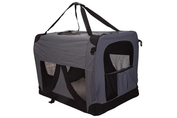 Portable Soft Dog Crate XXXL - GREY