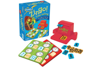 ThinkFun Zingo! Time-Telling