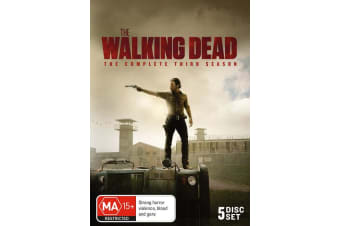 The Walking Dead The Complete Third Season 3 Box Set DVD Region 4