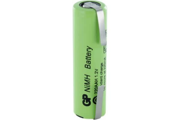 Gp 1300Mah 1.2V Short Aa & Tags