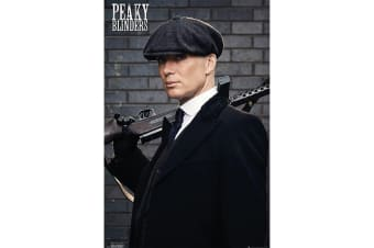 Peaky Blinders Tommy Poster (Multicolour) (One Size)