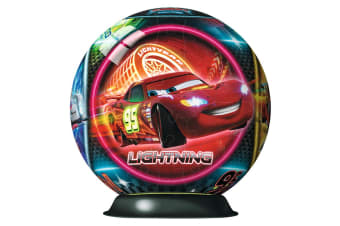 Ravensburger - Disney Cars Neon Puzzleball 108pc