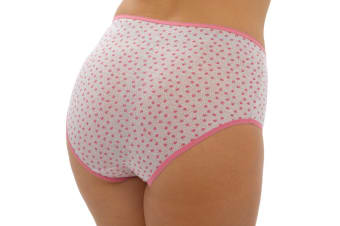 Anuci Womens Ladies Full Briefs (Pack Of 3) (Pack 4)
