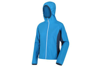 Regatta Womens/Ladies Arec II Softshell Jacket (Blue/Dark Denim) (20)