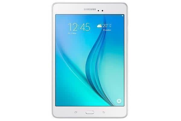 Samsung Galaxy Tab A 8.0 WiFi   (White) -Quad Core 1.2Ghz Android 5.0 16GB (2016 Model) Expand your