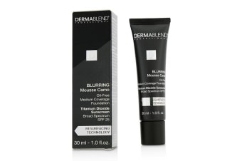 Dermablend Blurring Mousse Camo Oil Free Foundation SPF 25 (Medium Coverage) - #30N Sand (Exp. Date 10/2019) 30ml/1oz