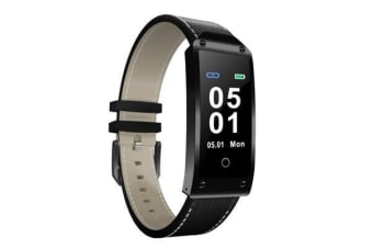 "TODO Bluetooth V3.0 Smart Watch 0.96"" Oled Blood Pressure Heart Rate Ip67  Black"