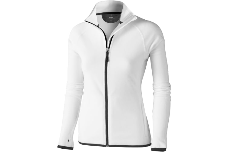 Elevate Womens/Ladies Brossard Micro Fleece (White) (XL)
