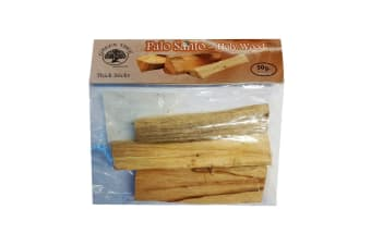 Green Tree Palo Santo Holy Wood Thick Sticks (Brown) (50g)