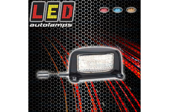 GENUINE LED BRAND LICENSE LICENCE NUMBER PLATE LIGHT LAMP NEW TRAILER TAIL TRUCK