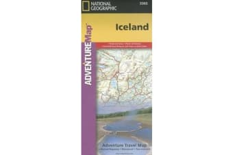 Iceland - Travel Maps International Adventure Map