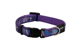 Rogz Fancy Collar Purple Forest - XL