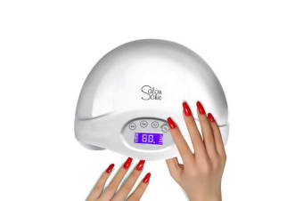 48W LED UV Nail Dryer Polish Lamp in WHITE