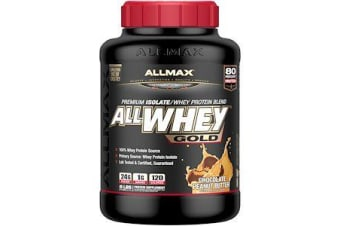 AllWhey Gold 100% Whey Protein + Premium Whey Protein Isolate - Chocolate Peanut Butter