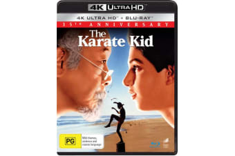 The Karate Kid 4K Ultra HD Blu-ray Digital Download UHD Region B