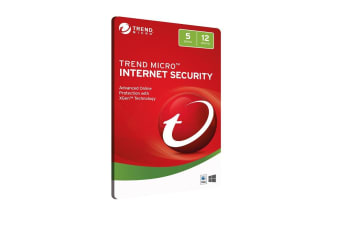 TREND MICRO (LS) Trend Micro Internet Security 5D 12MTH Retail Digital Download